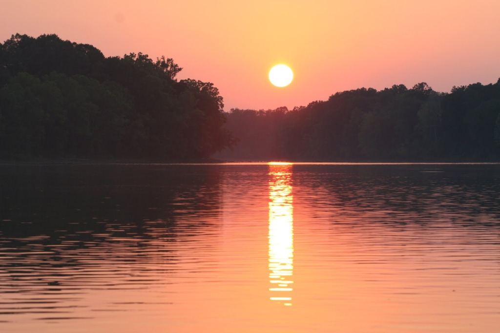 Coosa River Sunset