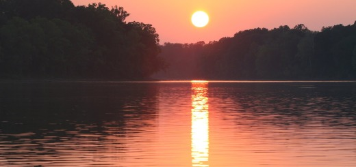 Coosa River Sunset