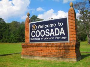 Coosada Sign Alabama