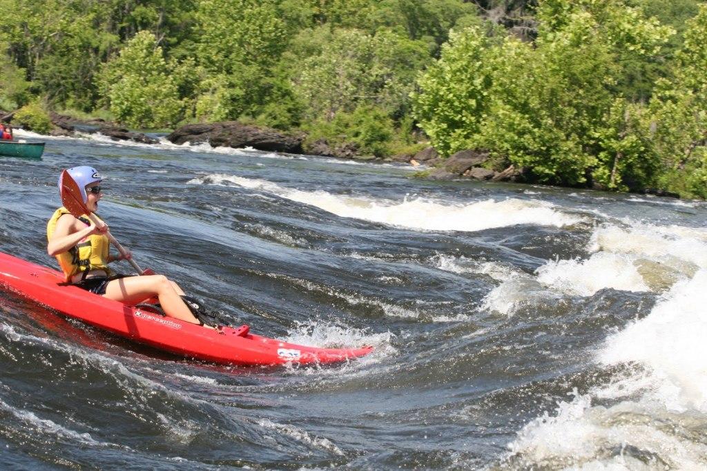 Kayaking on the Coosa River